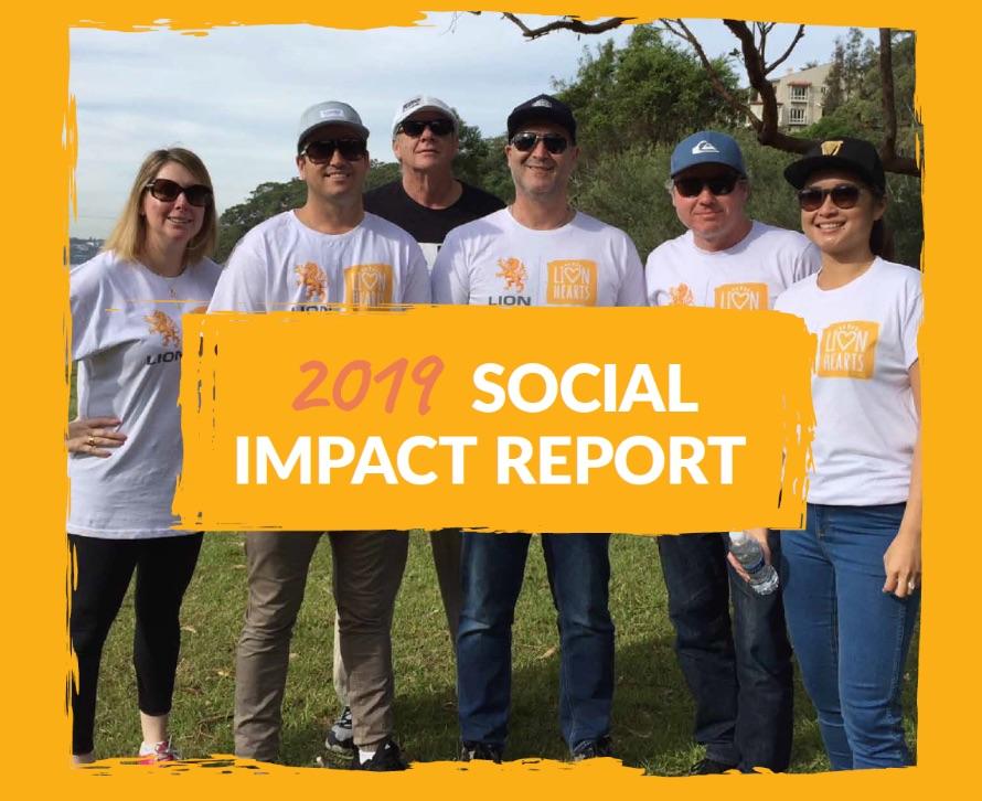 Lion Beverages Social Impact Report